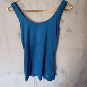 Used Sz S Champion Duo Dry Blue Cami Tank